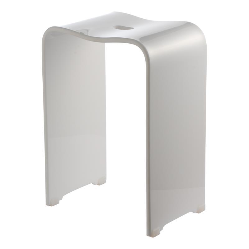 groothandel in luxe badkamerartikelen : badstoel wit, Badkamer
