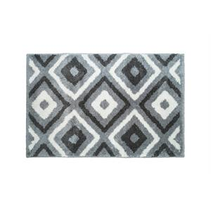 Badmat Check 60 x 90 Grey